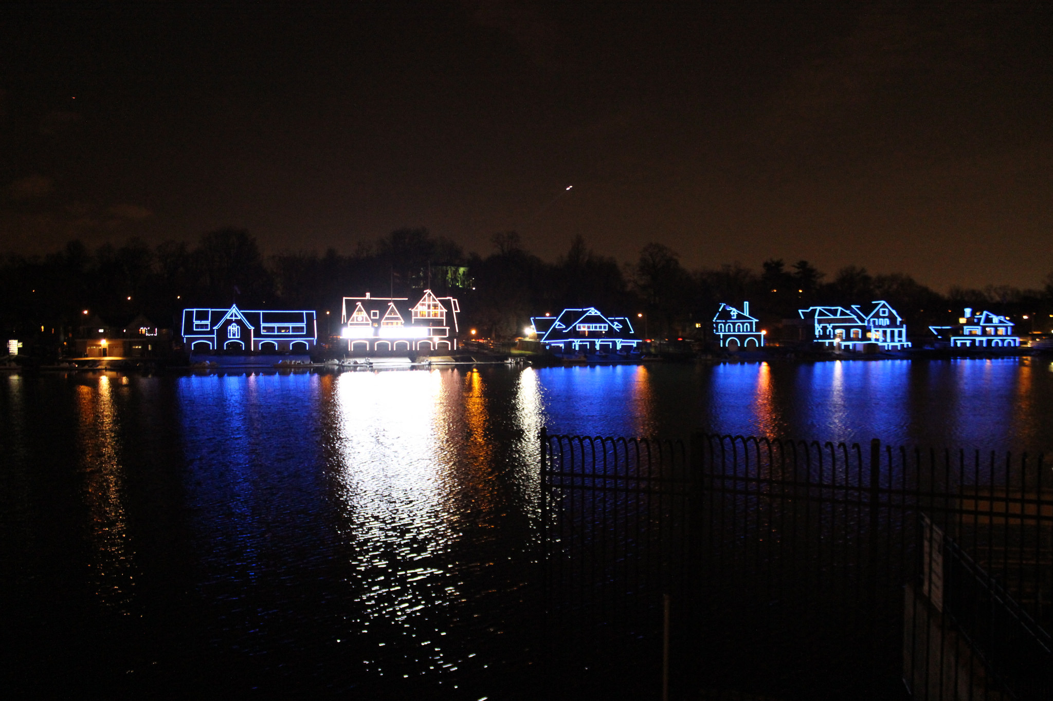 Image result for boathouse row festival of lights